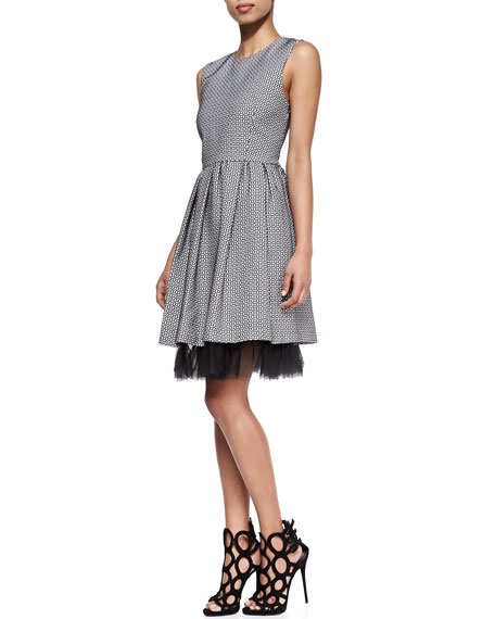 The Cap Cana Tulle-Hem Dress