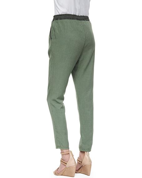 Drawstring Weekend Pants, Sulfur Basil