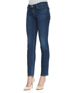 AG Adriano Goldschmied Stilt Cigarette Whiskered Skinny Jeans, Rio