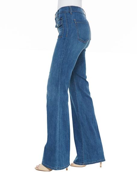 Dixie Wide-Leg Jeans, Cooper
