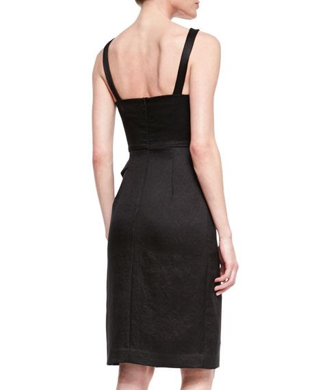 Honour Faux-Wrap Cocktail Dress
