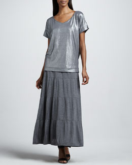 Eileen Fisher Tiered Maxi Skirt, Women's