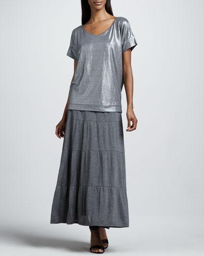 Eileen Fisher Tiered Maxi Skirt, Women's