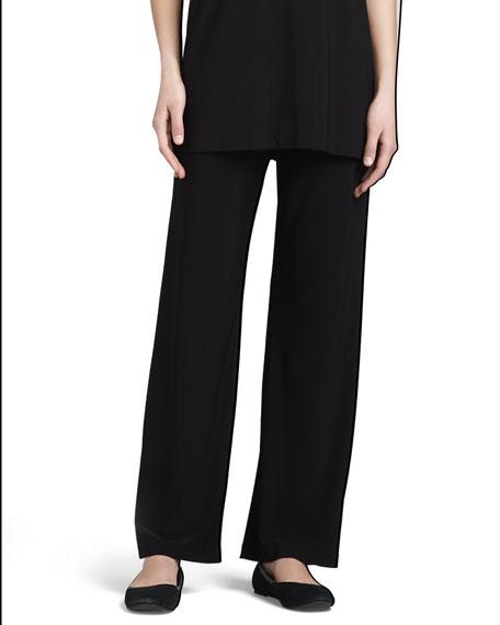 Straight-Leg Jersey Pants