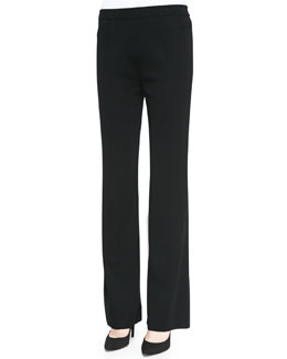 Misook Casey Straight-Leg Pants, Women's