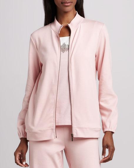 Interlock Zip Jacket, Petite