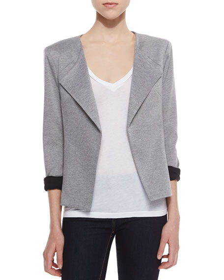 Crosby Heathered Knit Blazer