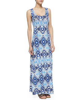 Ella Moss Totem Crochet-Back Maxi Dress