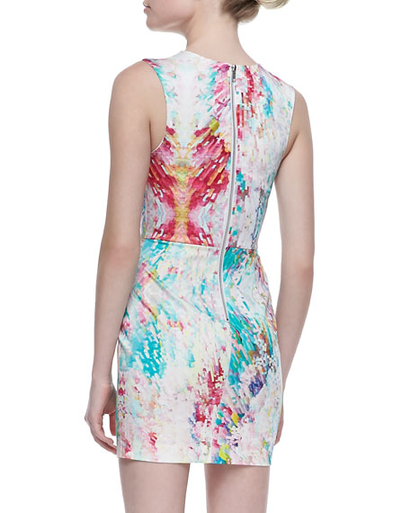 Midnight A-Line Mini Dress