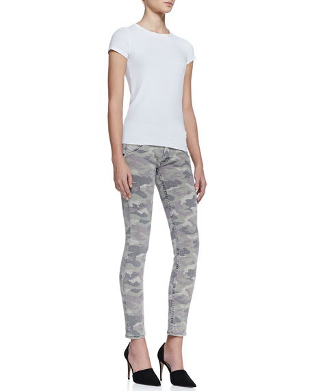 Collin Faded Camo-Print Jeans