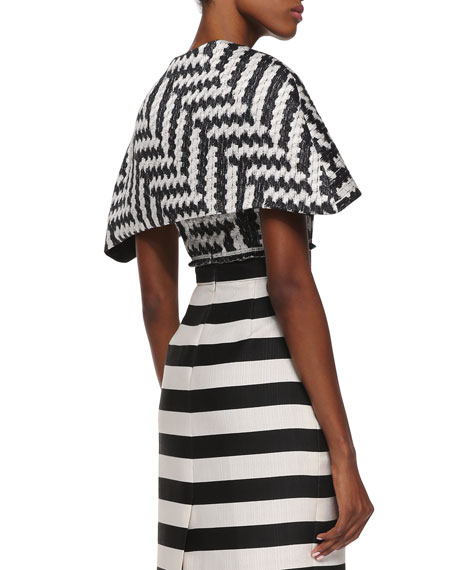 Short Zigzag Cape