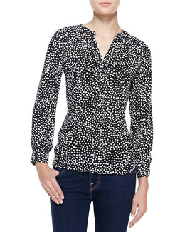 Joie Peterson B Heart-Print Top
