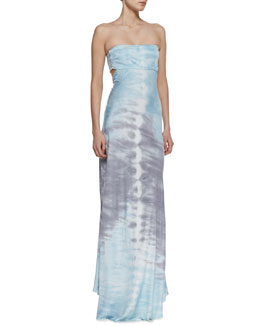 Young Fabulous and Broke Miche Strapless Maxi Dress