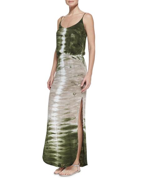 Holland Spaghetti-Strap Maxi Dress
