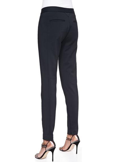 Slim Scuba Zip Trousers