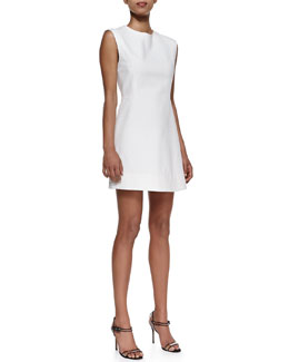 Veronica Beard Sleeveless A-Line Mini Dress