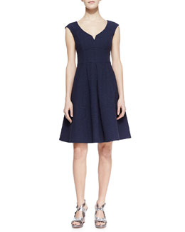 Nanette Lepore Artisan Medallion Flare Dress
