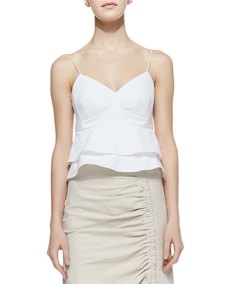 Guilty Pleasure Knit Sleeveless Top, White