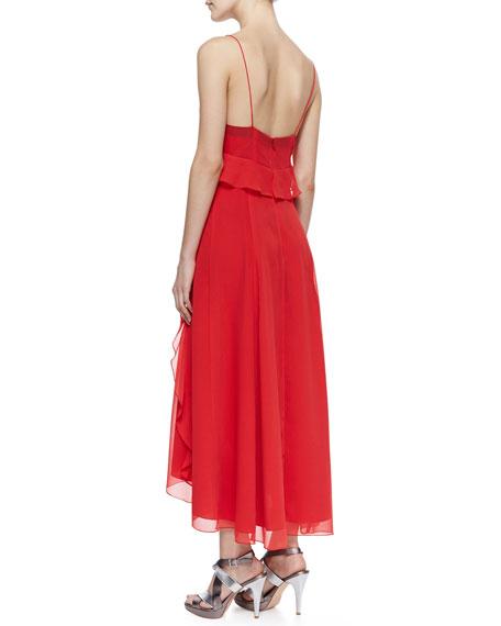 Dreamer High-Low Ruffle Dress