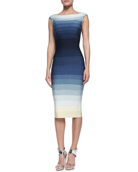 Ardell Ombre Bandage Dress
