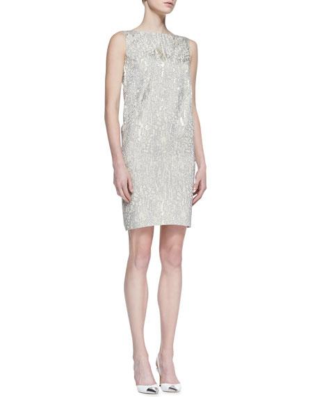 Valentina Sleeveless Printed Dress