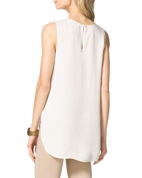 High-Low Tank Blouse