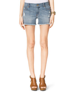 MICHAEL Michael Kors  Distressed Cutoff Shorts