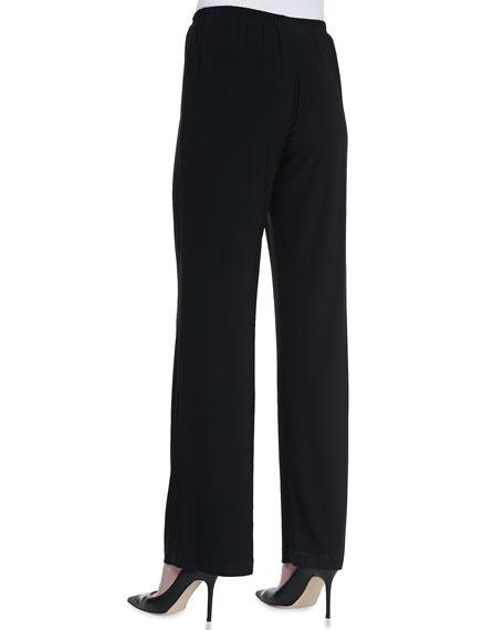 Straight-Leg Jersey Pants, Women's