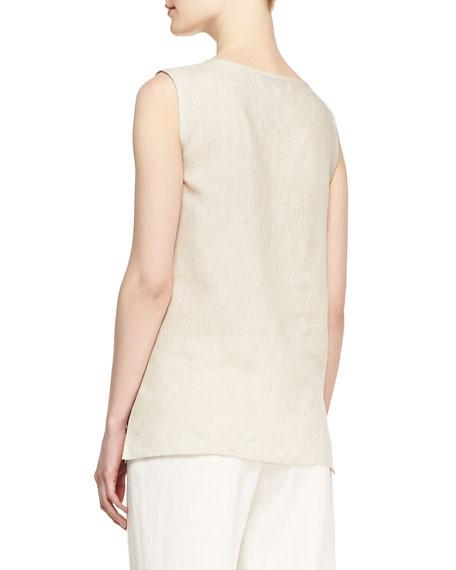 Tissue Linen Tank, Women's