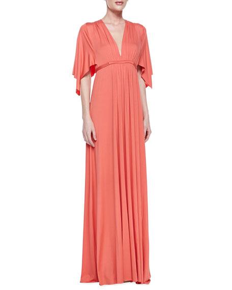 Jersey Maxi Caftan Dress