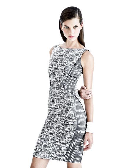 Deanna Sleeveless Sheath Dress