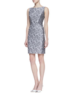 Lafayette 148 New York Deanna Sleeveless Sheath Dress