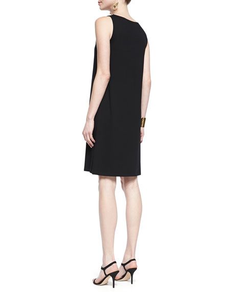 Sleeveless Jersey Shift Dress, Petite
