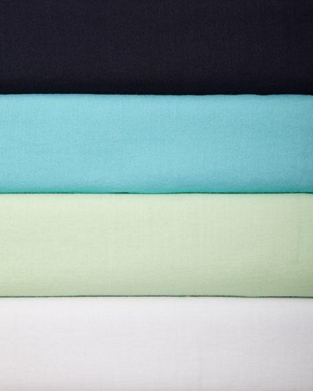 Organic Cotton Boxy Long-Sleeve Shirt