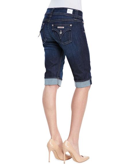 Palerme Stella Denim Bermuda Shorts
