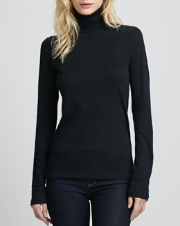 Majestic Paris for Neiman Marcus Relaxed-Fit Turtleneck