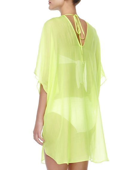 Florence Silk Coverup