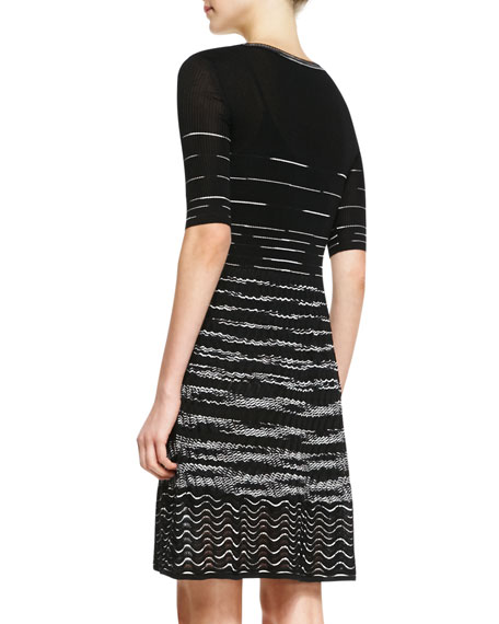 Space-Dye Serpentine Dress