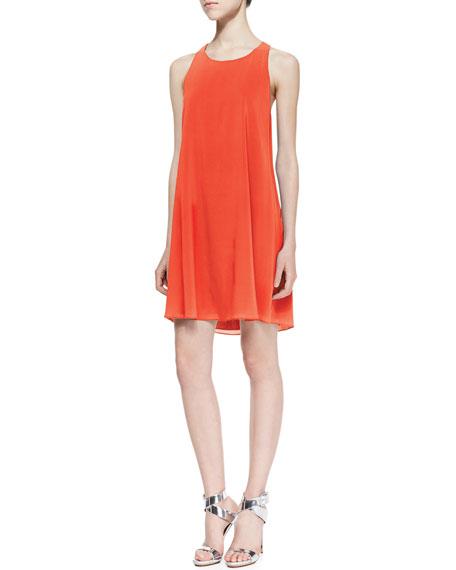 Marion Silk Shift Dress