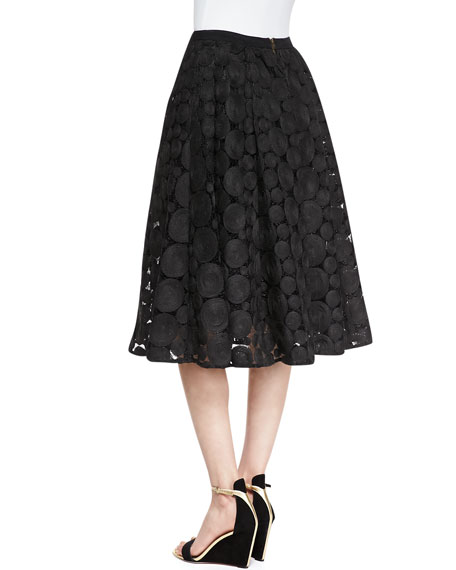 Dolce Vita Big & Little Spheres Skirt, Black