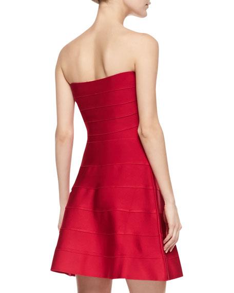Jane Strapless Bandage Dress