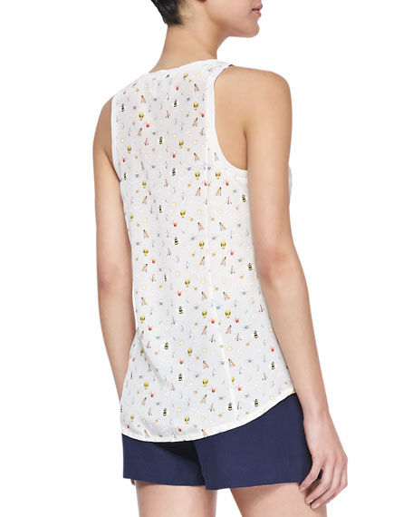Rain Bug Silk Tank Top