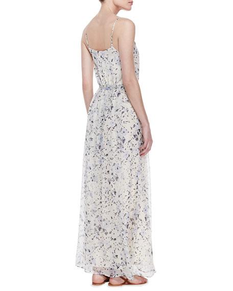 Maruceka Floral-Print Maxi Dress