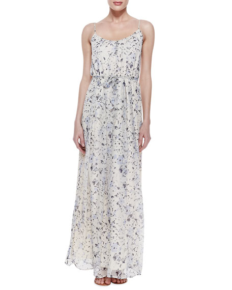 Maruceka Floral-Print Maxi Dress