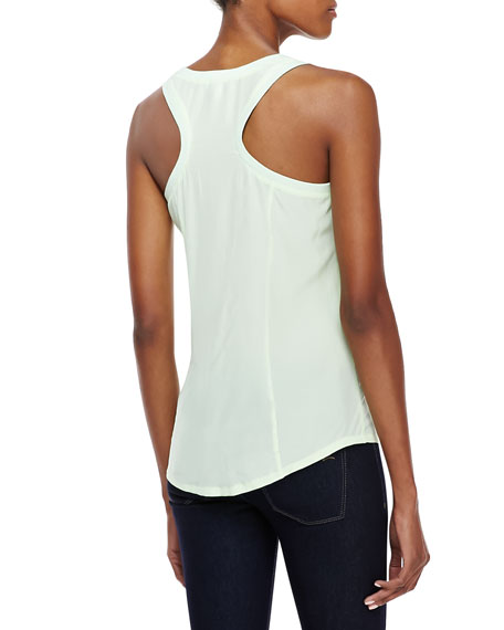 Alicia Silk Pocket Tank