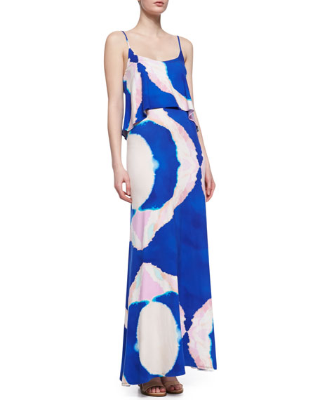 Vera Printed Jersey Maxi Dress