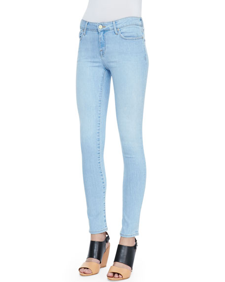 Mid-Rise Light Skinny Jeans, Rossdale