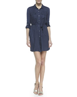 Soft Joie Wila Denim Shirtdress