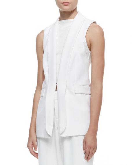 Tux Vest, White