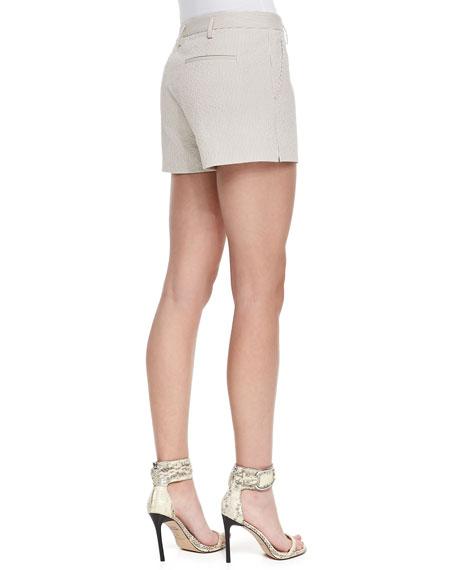 Kasim Stretch Seersucker Shorts